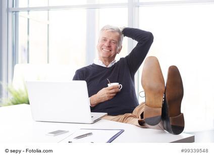 Arbeitszimmer bei Arbeitnehmern