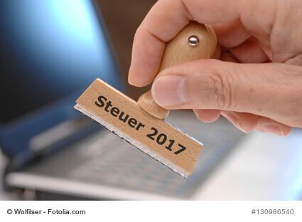 Bearbeitung der Steuererklärung 2017 beim Finanzamt